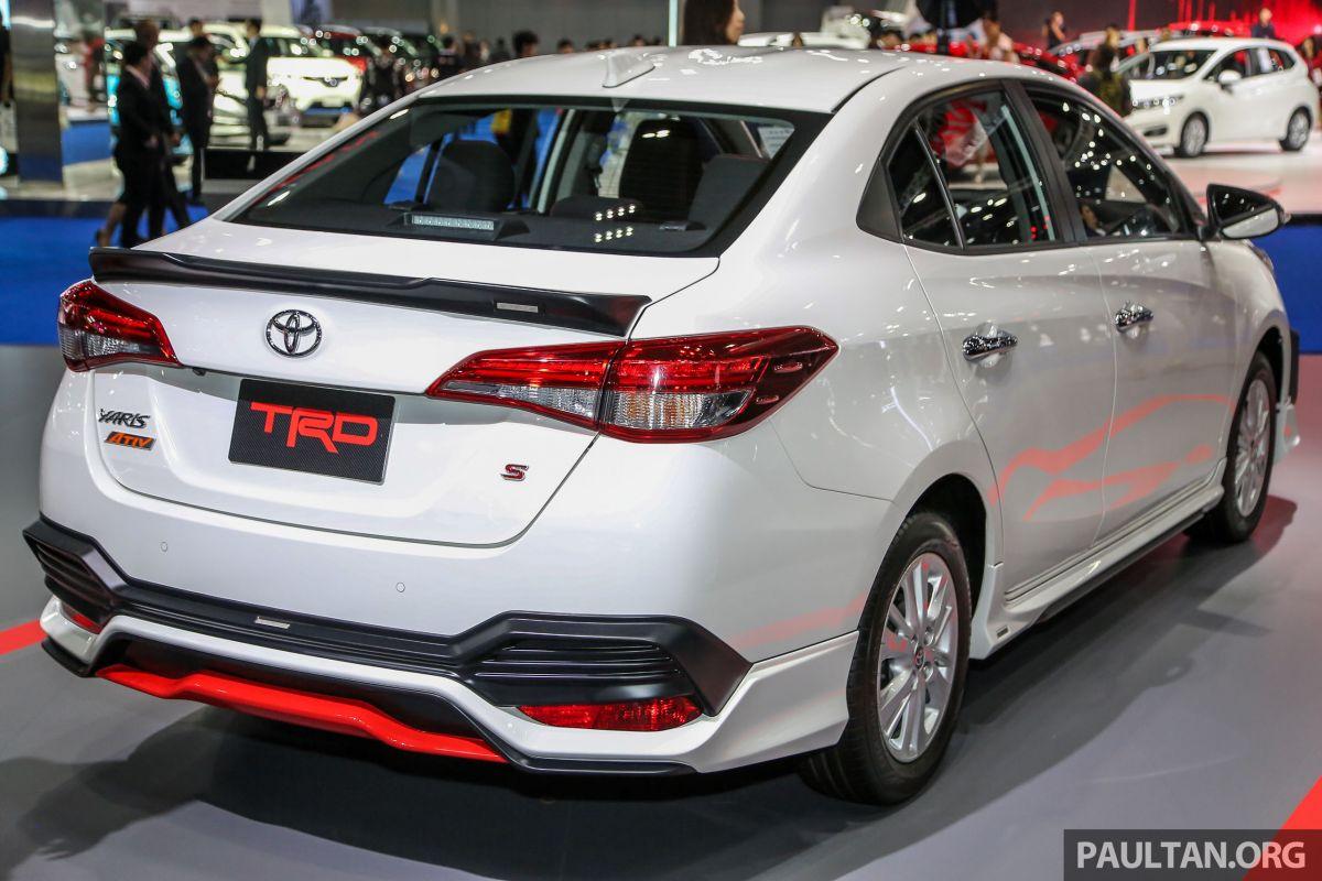 Bangkok 2018 Toyota Yaris Ativ Trd Vios Trd Kelak