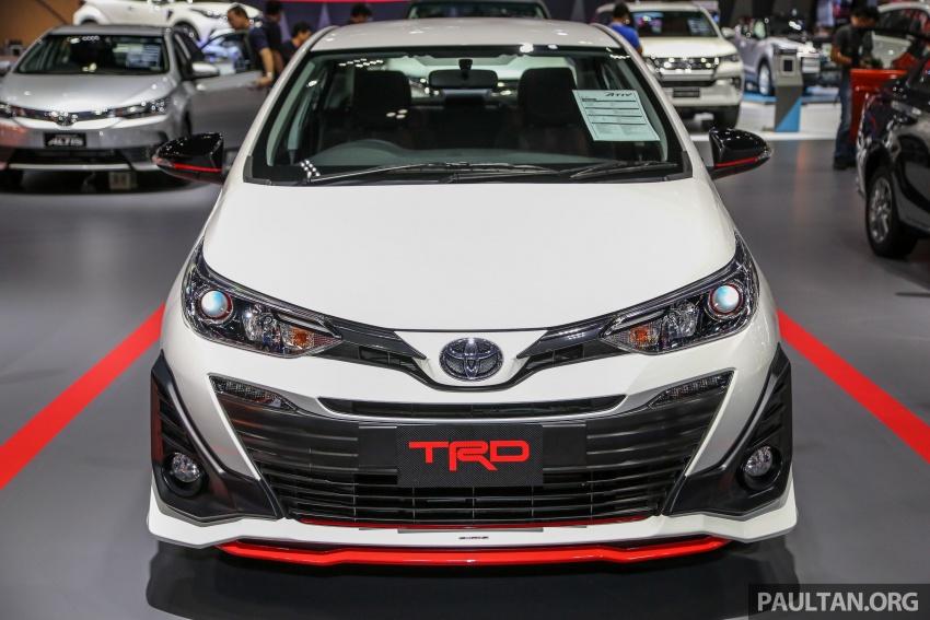 Bangkok 2018: Toyota Yaris Ativ TRD, future Vios TRD Image #797378