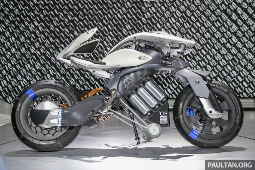 GALERI: Yamaha Motoroid di Bangkok Motor Show Image #799053