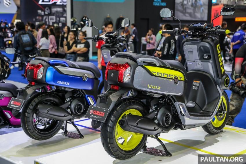 GALLERY: 2017 Yamaha Qbix and Motoroid concept Image #799141