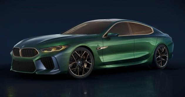 BMW Concept M8 Gran Coupe previews new four-door