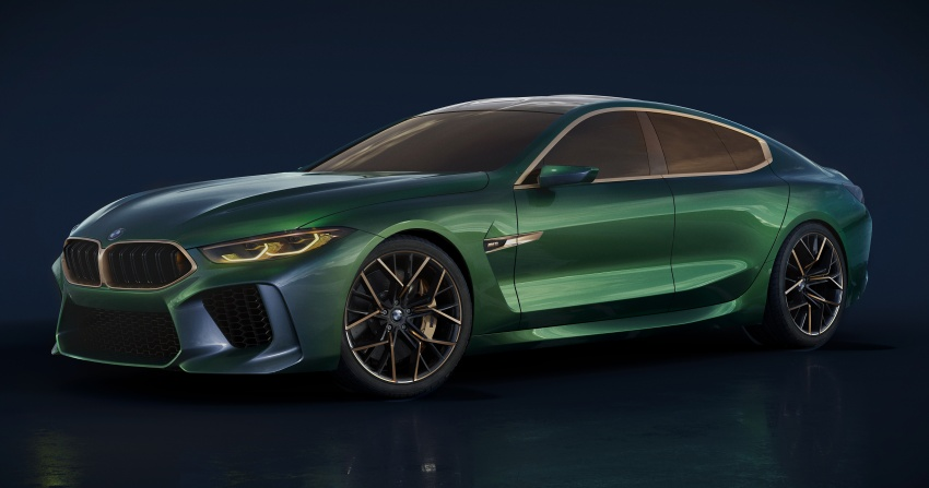 BMW Concept M8 Gran Coupe previews new four-door Image #787282