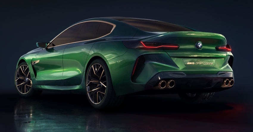 BMW Concept M8 Gran Coupe previews new four-door Image #787284
