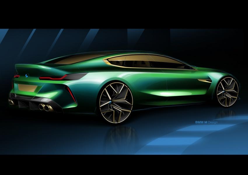 BMW Concept M8 Gran Coupe – gaya lebih mewah Image #787308