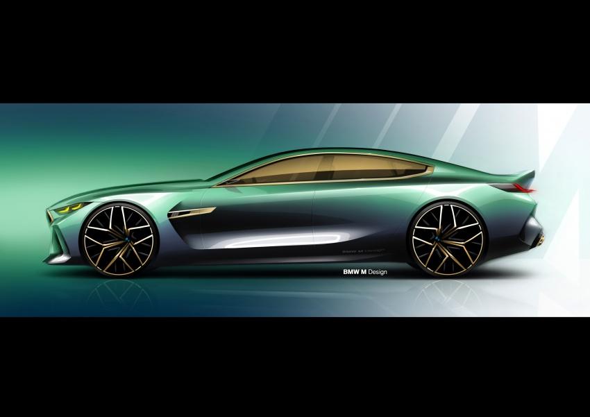 BMW Concept M8 Gran Coupe – gaya lebih mewah Image #787325