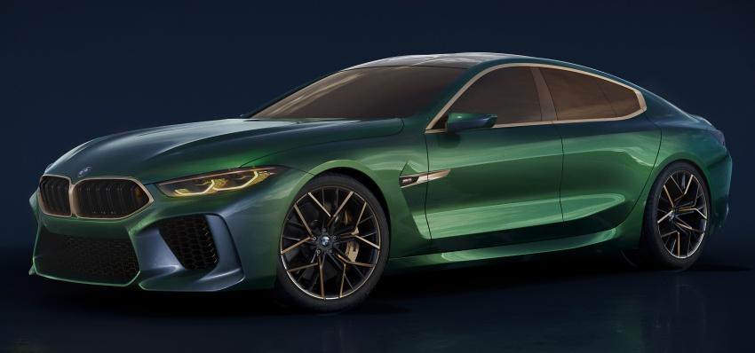 BMW Concept M8 Gran Coupe – gaya lebih mewah Image #787310