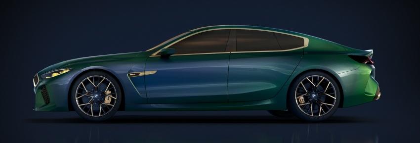 BMW Concept M8 Gran Coupe – gaya lebih mewah Image #787311