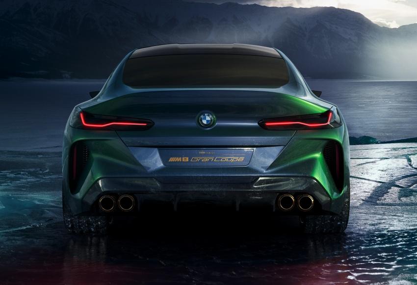 BMW Concept M8 Gran Coupe – gaya lebih mewah Image #787312