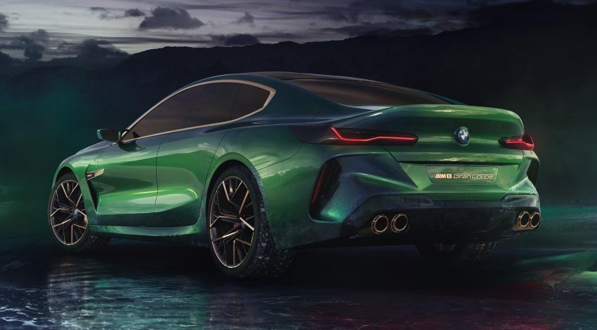 BMW Concept M8 Gran Coupe – gaya lebih mewah Image #787313
