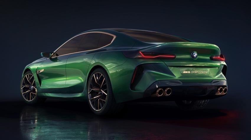 BMW Concept M8 Gran Coupe – gaya lebih mewah Image #787314