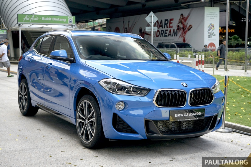 F39 BMW X2 launched in Malaysia – sDrive20i, RM321k Image #793638