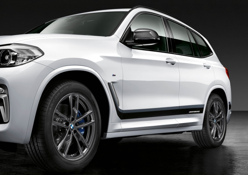 BMW X2, X3 and X4 receive M Performance Parts Image #784646