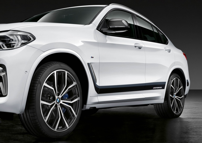 BMW X2, X3 and X4 receive M Performance Parts Image #784649