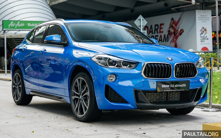 F39 BMW X2 launched in Malaysia – sDrive20i, RM321k Image #793646