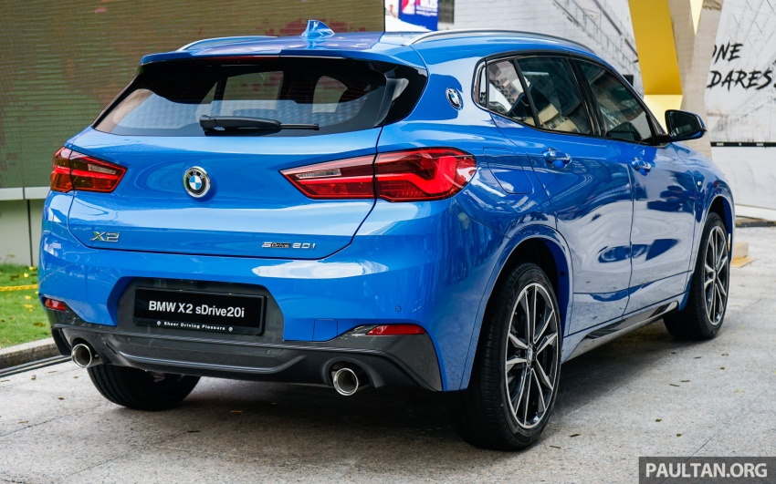 F39 BMW X2 launched in Malaysia – sDrive20i, RM321k Image #793647