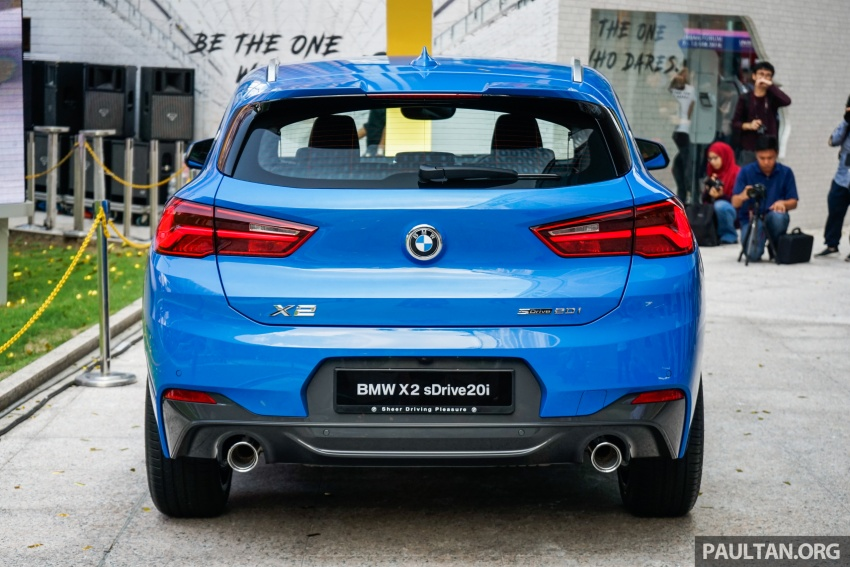 F39 BMW X2 launched in Malaysia – sDrive20i, RM321k Image #793648