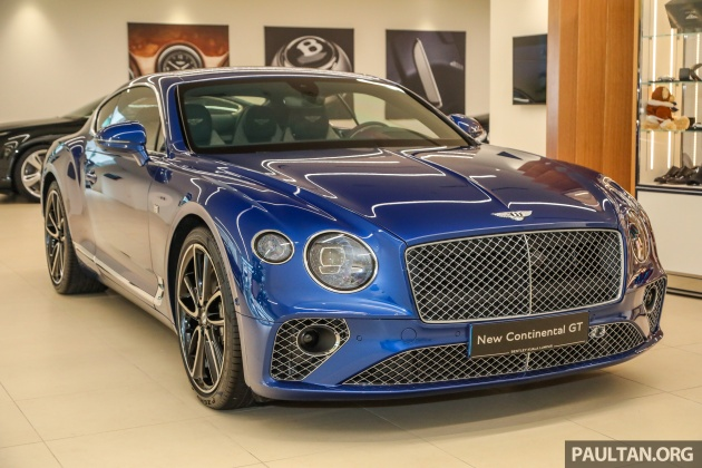 Bentley Continental GT First Edition previewed in Malaysia – limited ...