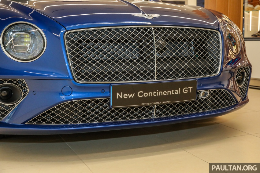 Bentley Continental GT First Edition previewed in Malaysia – limited units, priced at RM2.15 million Image #797183