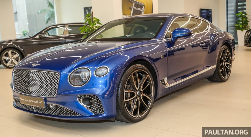 Bentley Continental GT First Edition previewed in Malaysia – limited units, priced at RM2.15 million Image #797173