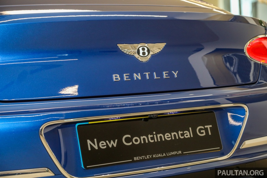 Bentley Continental GT First Edition previewed in Malaysia – limited units, priced at RM2.15 million Image #797199
