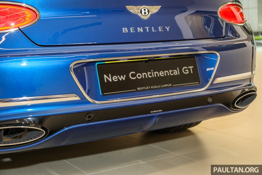 Bentley Continental GT First Edition previewed in Malaysia – limited units, priced at RM2.15 million Image #797200