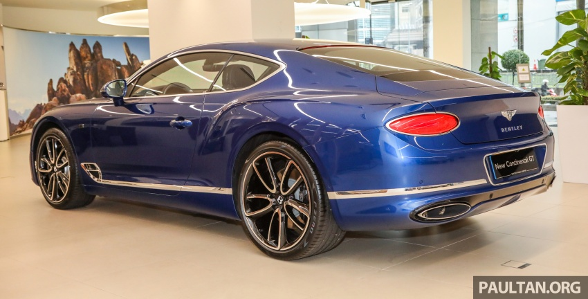 Bentley Continental GT First Edition previewed in Malaysia – limited units, priced at RM2.15 million Image #797175