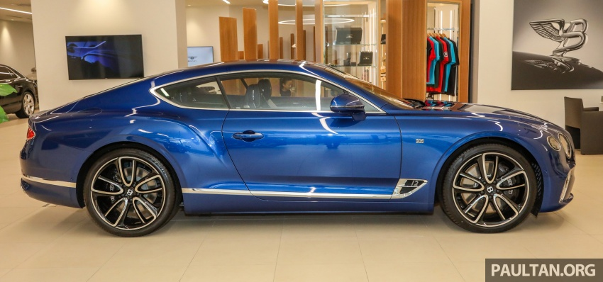 Bentley Continental GT First Edition previewed in Malaysia – limited units, priced at RM2.15 million Image #797176