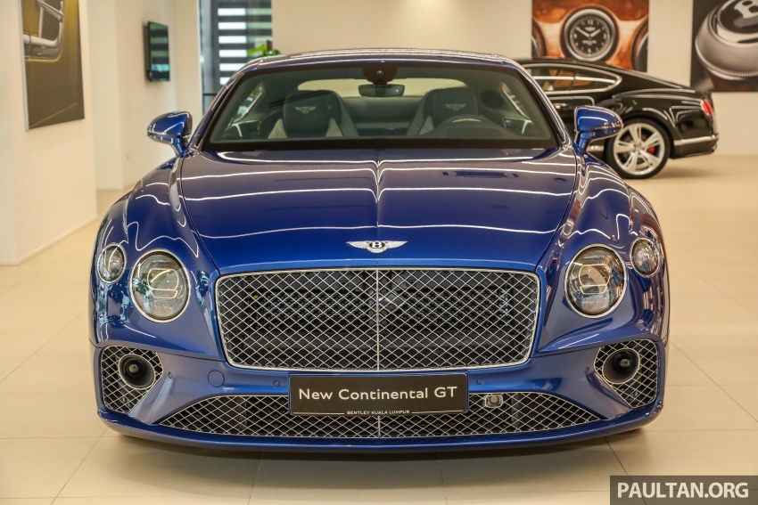 Bentley Continental GT First Edition previewed in Malaysia – limited units, priced at RM2.15 million Image #797177