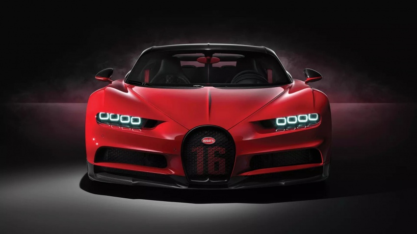 Bugatti Chiron Sport – same power, better dynamics Image #788093