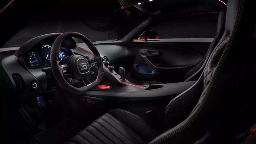 Bugatti Chiron Sport – same power, better dynamics Image #788105