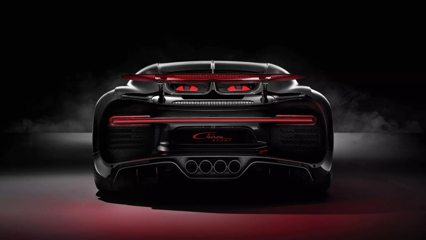 Bugatti Chiron Sport – same power, better dynamics Image #788094