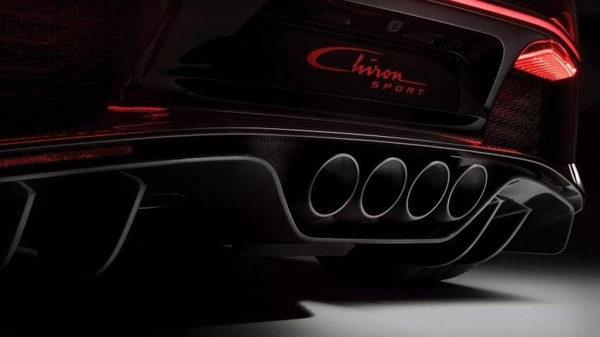 Bugatti Chiron Sport – same power, better dynamics Image #788099