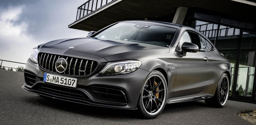 Mercedes-AMG C63 facelift debuts with new 9G auto Image #955902
