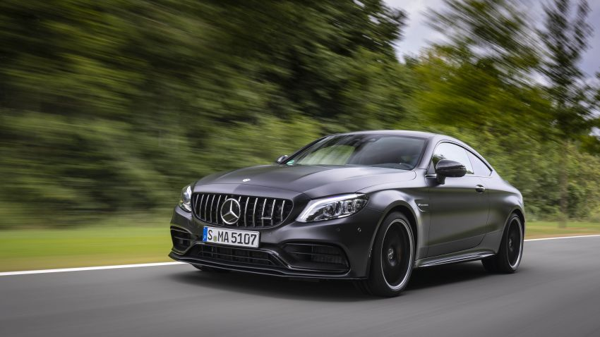 Mercedes-AMG C63 facelift debuts with new 9G auto Image #955911