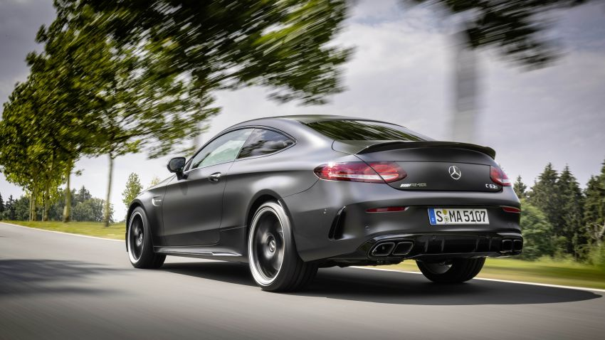 Mercedes-AMG C63 facelift debuts with new 9G auto Image #955912
