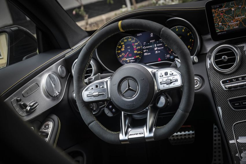 Mercedes-AMG C63 facelift debuts with new 9G auto Image #955913