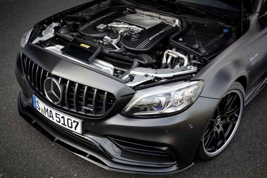 Mercedes-AMG C63 facelift debuts with new 9G auto Image #955918