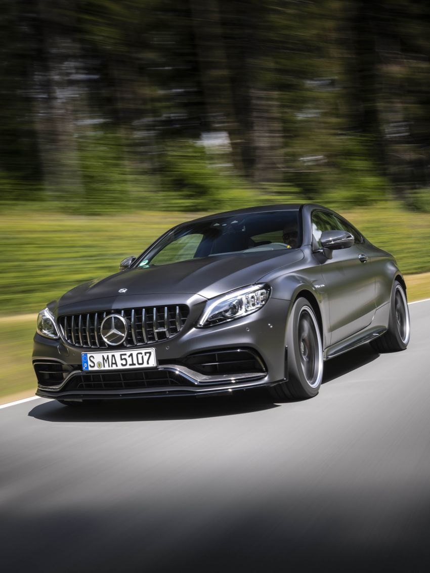 Mercedes-AMG C63 facelift debuts with new 9G auto Image #955919