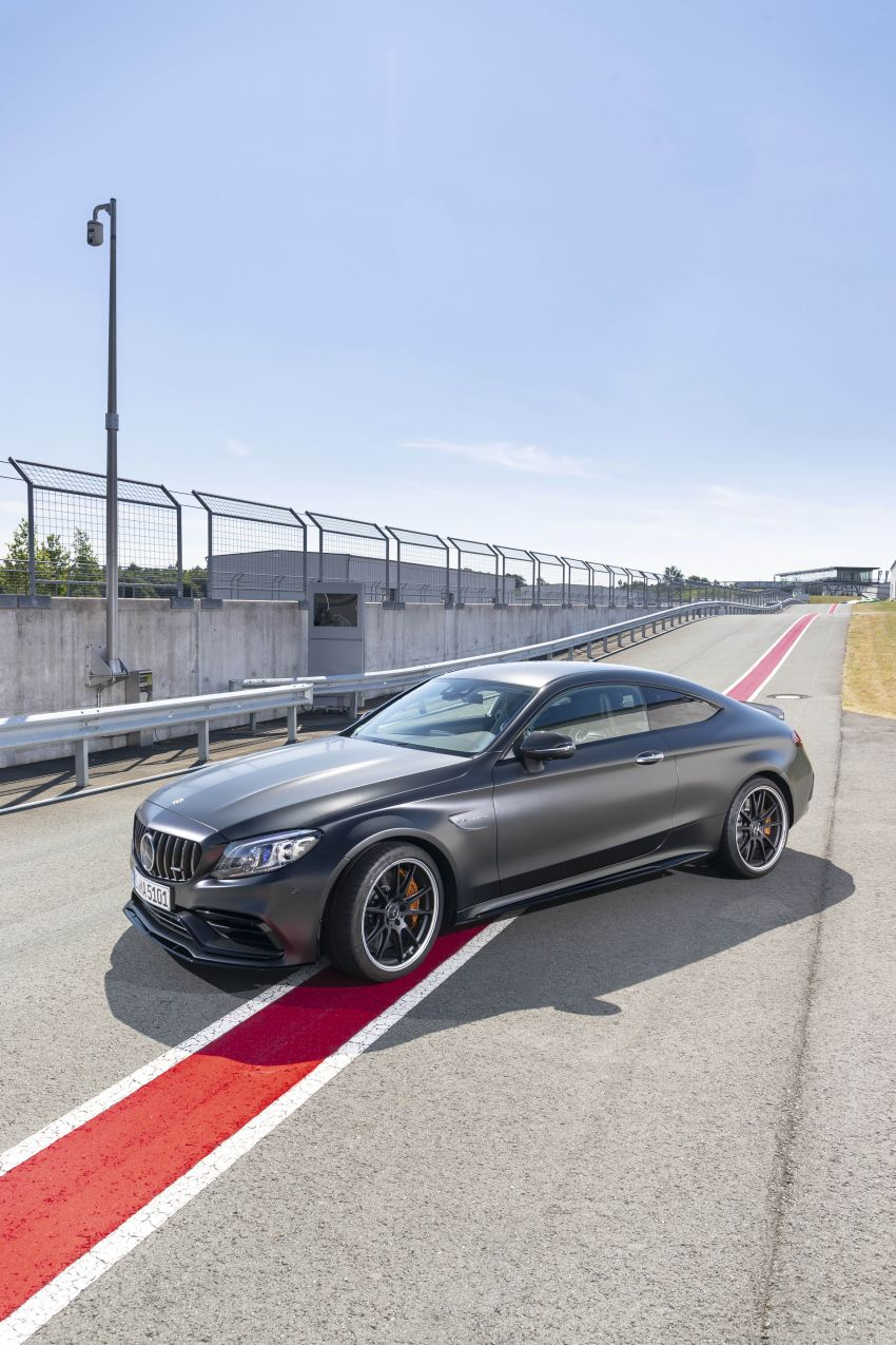 Mercedes-AMG C63 facelift debuts with new 9G auto Image #955920