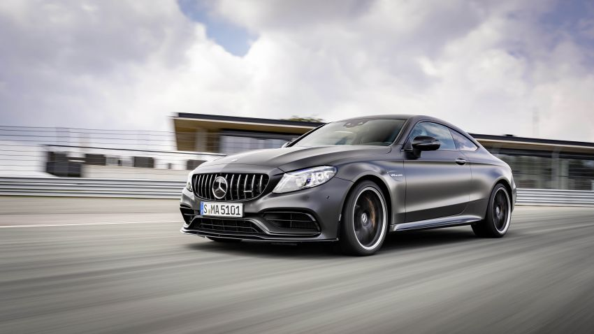 Mercedes-AMG C63 facelift debuts with new 9G auto Image #955921