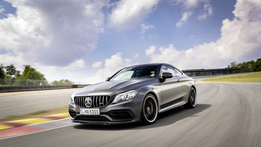 Mercedes-AMG C63 facelift debuts with new 9G auto Image #955922