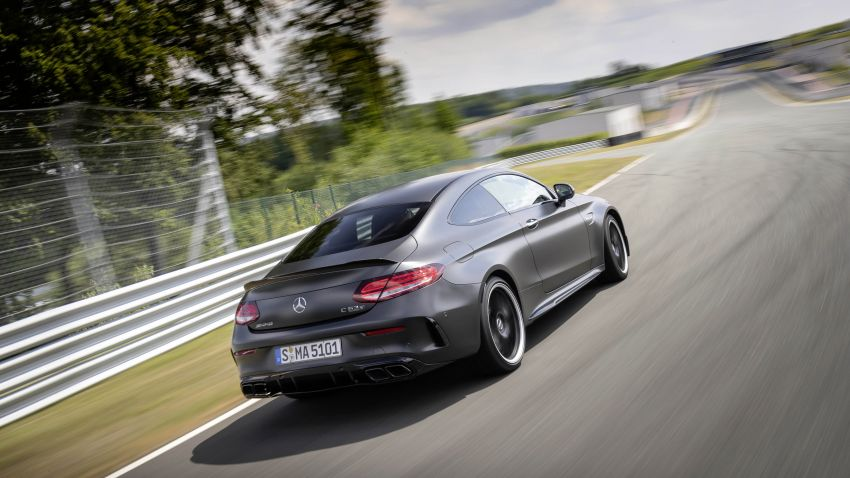 Mercedes-AMG C63 facelift debuts with new 9G auto Image #955923
