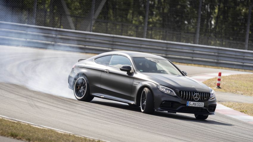 Mercedes-AMG C63 facelift debuts with new 9G auto Image #955925
