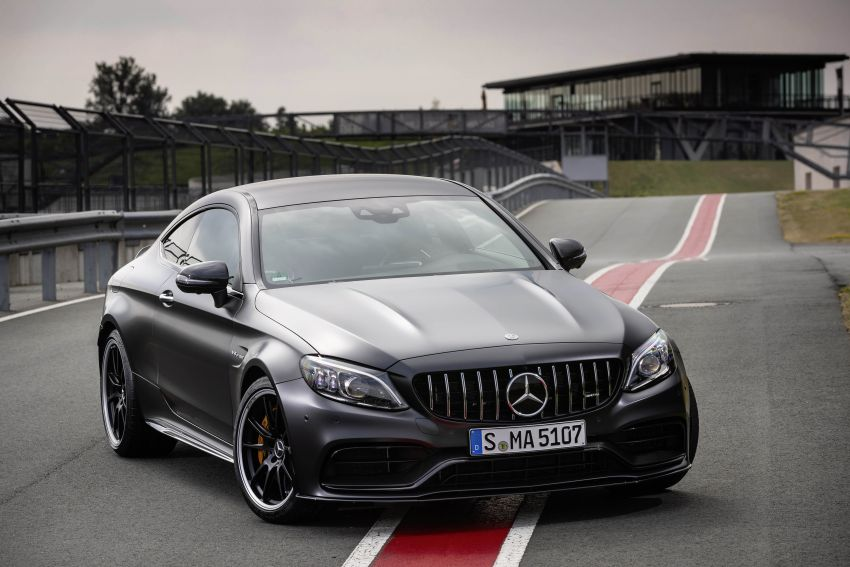 Mercedes-AMG C63 facelift debuts with new 9G auto Image #955905