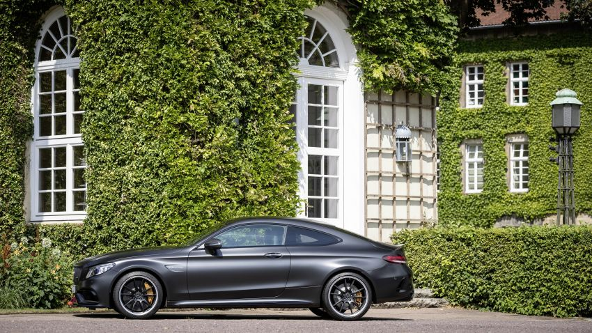 Mercedes-AMG C63 facelift debuts with new 9G auto Image #955906