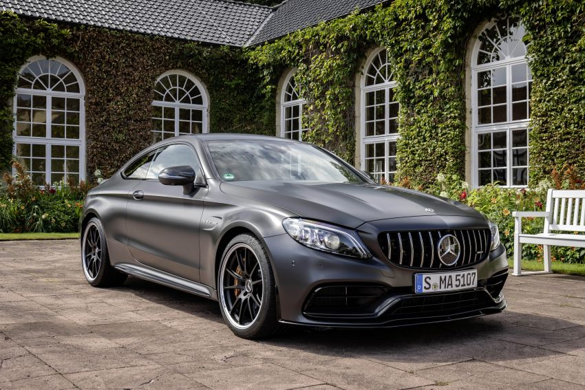 Mercedes-AMG C63 facelift debuts with new 9G auto Image #955908