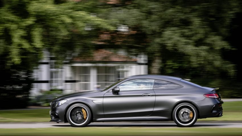 Mercedes-AMG C63 facelift debuts with new 9G auto Image #955909