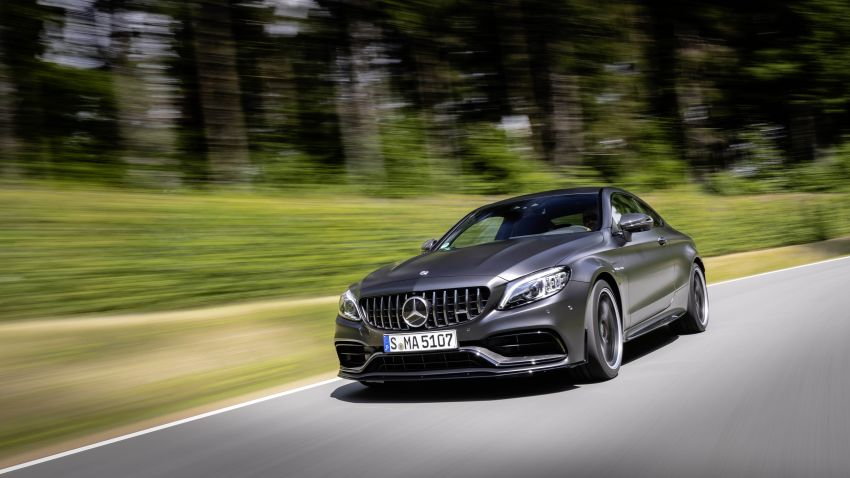 Mercedes-AMG C63 facelift debuts with new 9G auto Image #955910