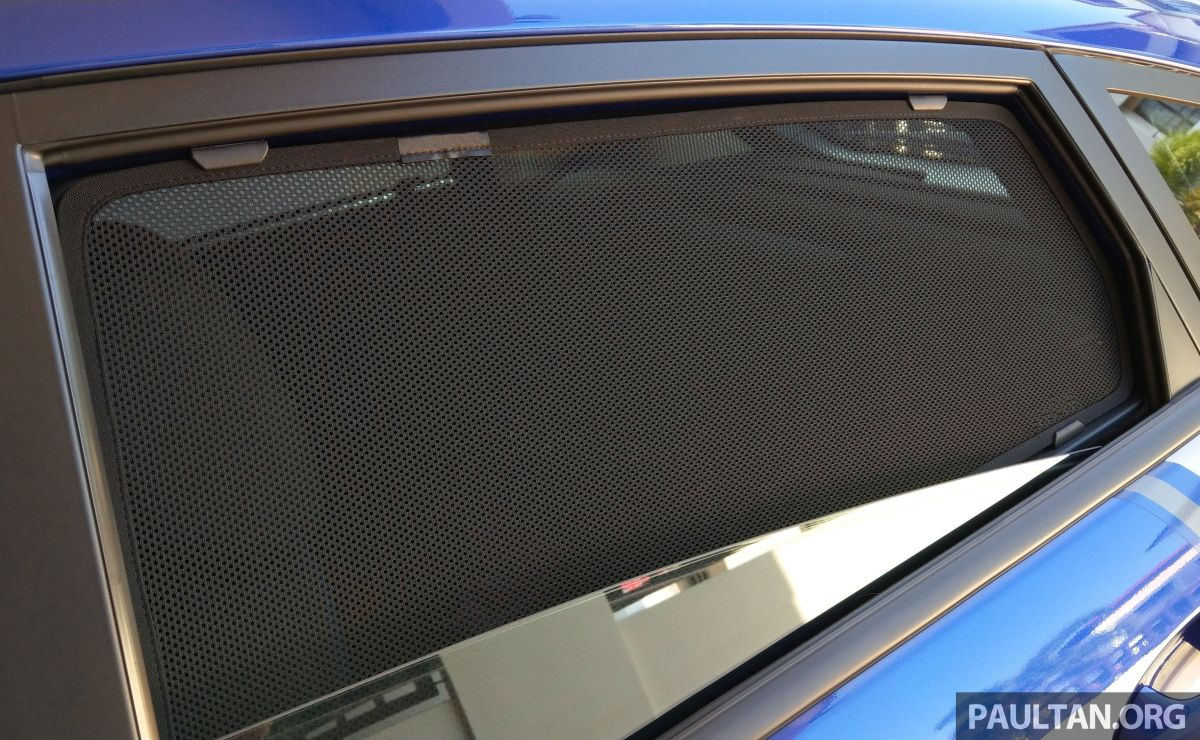 Are fixed shades/curtains in cars legal? We ask JPJ