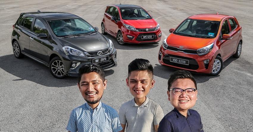 Driven Web Series 2018: family hatchbacks in Malaysia – 2018 Perodua Myvi vs Proton Iriz vs Kia Picanto! Image #800220